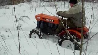 Kubota B6000 mini traktor ogrodniczy.  www.traktorki-japonskie.waw.pl