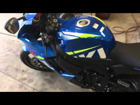 2015 Suzuki GSXR 600 SuperSport