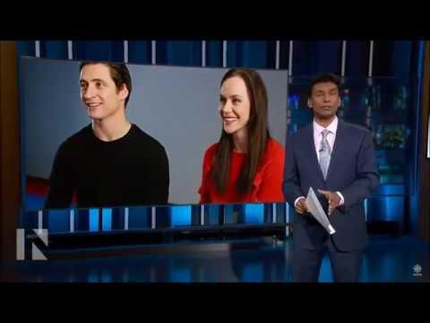 Tessa Virtue & Scott Moir. CBC. Interview. The National.