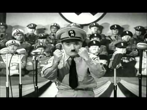 HIDA - Scène du discours (Le dictateur, CHAPLIN)