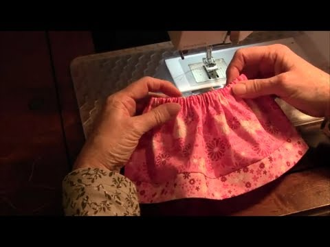 18 Inch Doll Skirt American Girl How To Make A Doll Skirt Youtube
