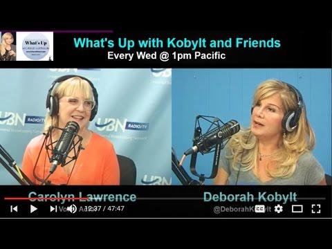 Deborah Kobylt LIVE: SpongeBob's Carolyn Lawrence