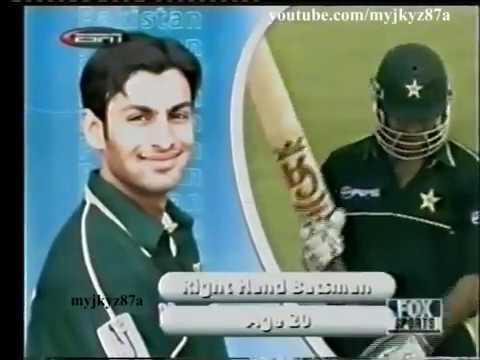 Shoaib Malik 111* vs West Indies at Sharjha 2002