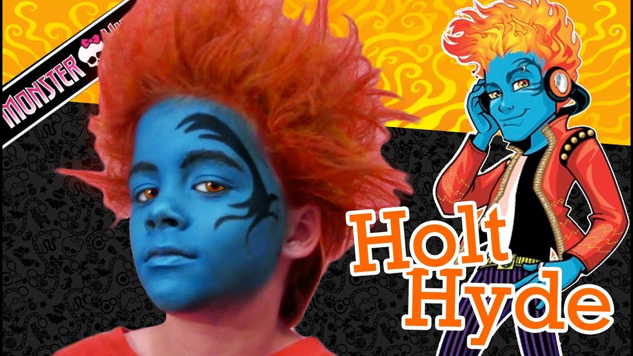 Holt hyde monster high doll costume makeup tutorial for halloween holt hyde monster high doll costume makeup tutorial for halloween baditri Gallery