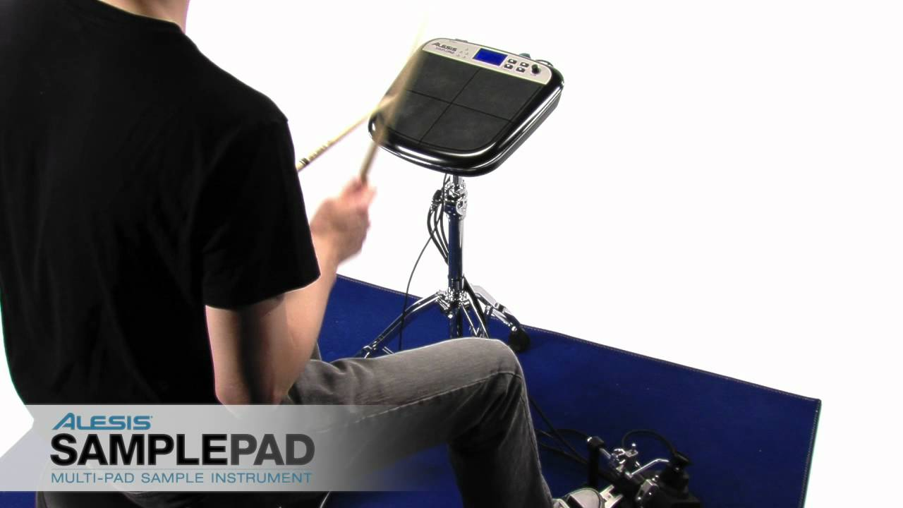 Alesis SamplePad - YouTube