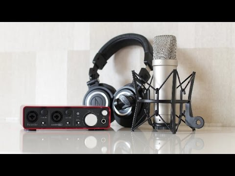 Epic Voiceover Home Studio For $500
