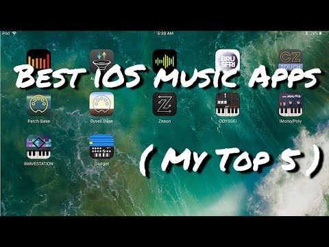 Best iOS Music Apps 2017 ( My Top 5 )