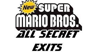 All Secret Exits in New Super Mario Bros DS