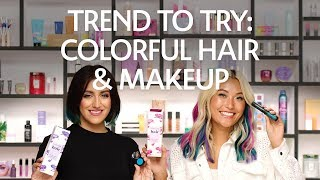 Trend to Try: Colorful Hair & Makeup | Sephora