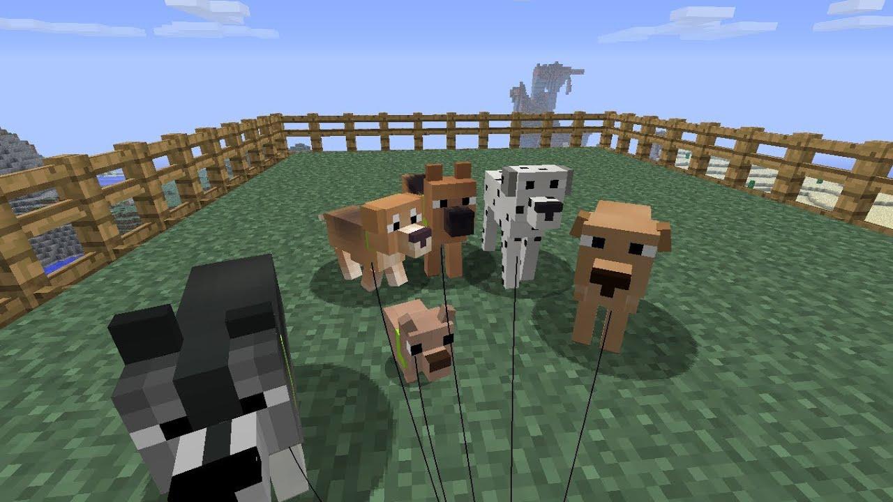 Мод Doggy Talents для Minecraft 1.7.10/1.7.2/1.6.4/1.5.2 ...