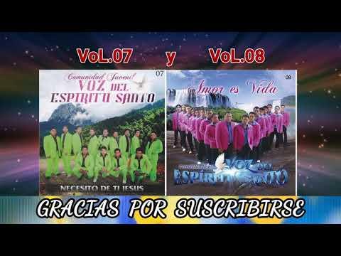 Comunidad Juvenil Voz del Espíritu Santo Vol.07 y Vol.08 (Álbum Completo)
