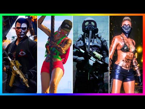 THE 8 TYPES OF PLAYERS & CHARACTERS WE MEET IN GTA ONLINE LOBBIES! (GTA 5)