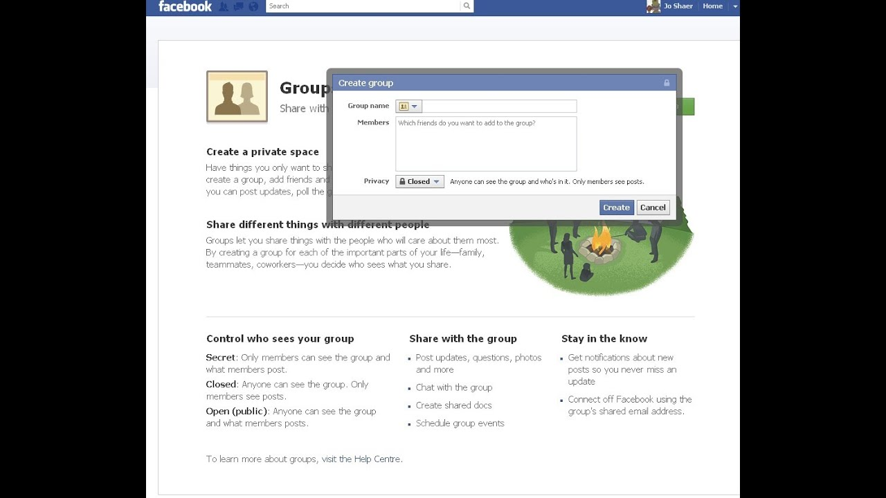 how to delete group on facebook 2014