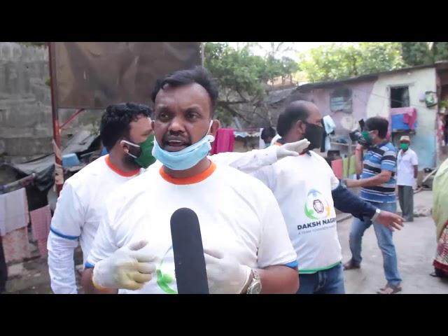 Advocate Sunil Kumar ne 1200 family ko rashan diya