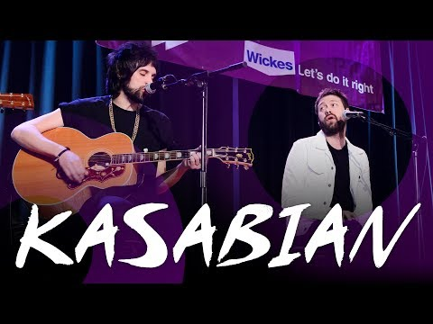 Kasabian Acoustic - at a School Assembly!