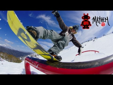 THE JUICE: Australia. Shred Bots snowboard video X Mayhem – 4K