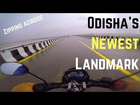 Bhubaneswar to Cuttack in Minutes | Breakfast Ride to Naraj Dam via Trisulia Bridge | MotoVlog