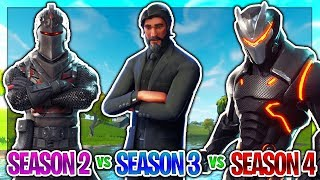 BLACK KNIGHT vs REAPER vs OMEGA (Fortnite Battle Royale BATTLE PASS)