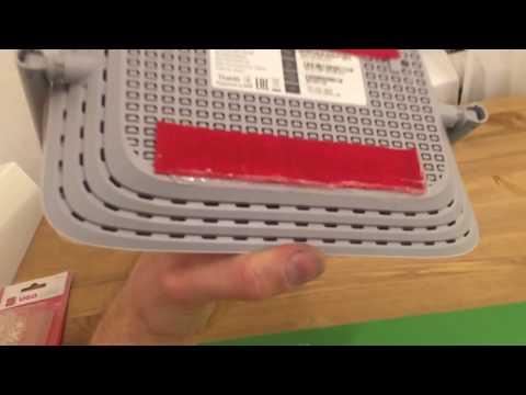 Как прикрепить роутер к стене без сверления стен