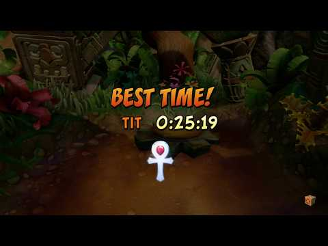 Crash Bandicoot N. Sane Crash1 SPEED PLAT16 GOLD7 SAP1 ONLY R18