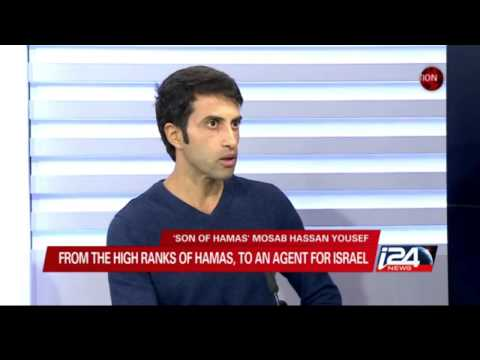Mosab Hassan Yousef interviewed by i24's Lucy Aharish