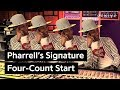 Download Pharrell's Signature Four-Count Start MP3 song and Music Video