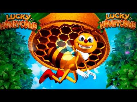 Lucky Honeycomb Slot - UNIQUE BONUS TRIGGER - COOL! - 동영상