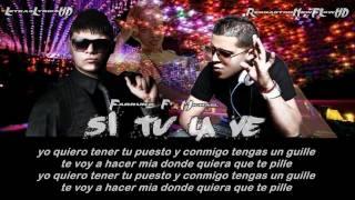Si tu la ves [Con Letra] - Farruko Ft. Michael 'El Nuevo Prospecto' (Original) Reggaeton 2012