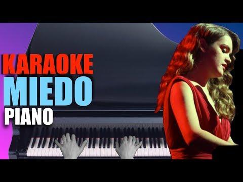 MIEDO - Amaia 🎹 Piano Karaoke + Partitura 😱 OT 2017