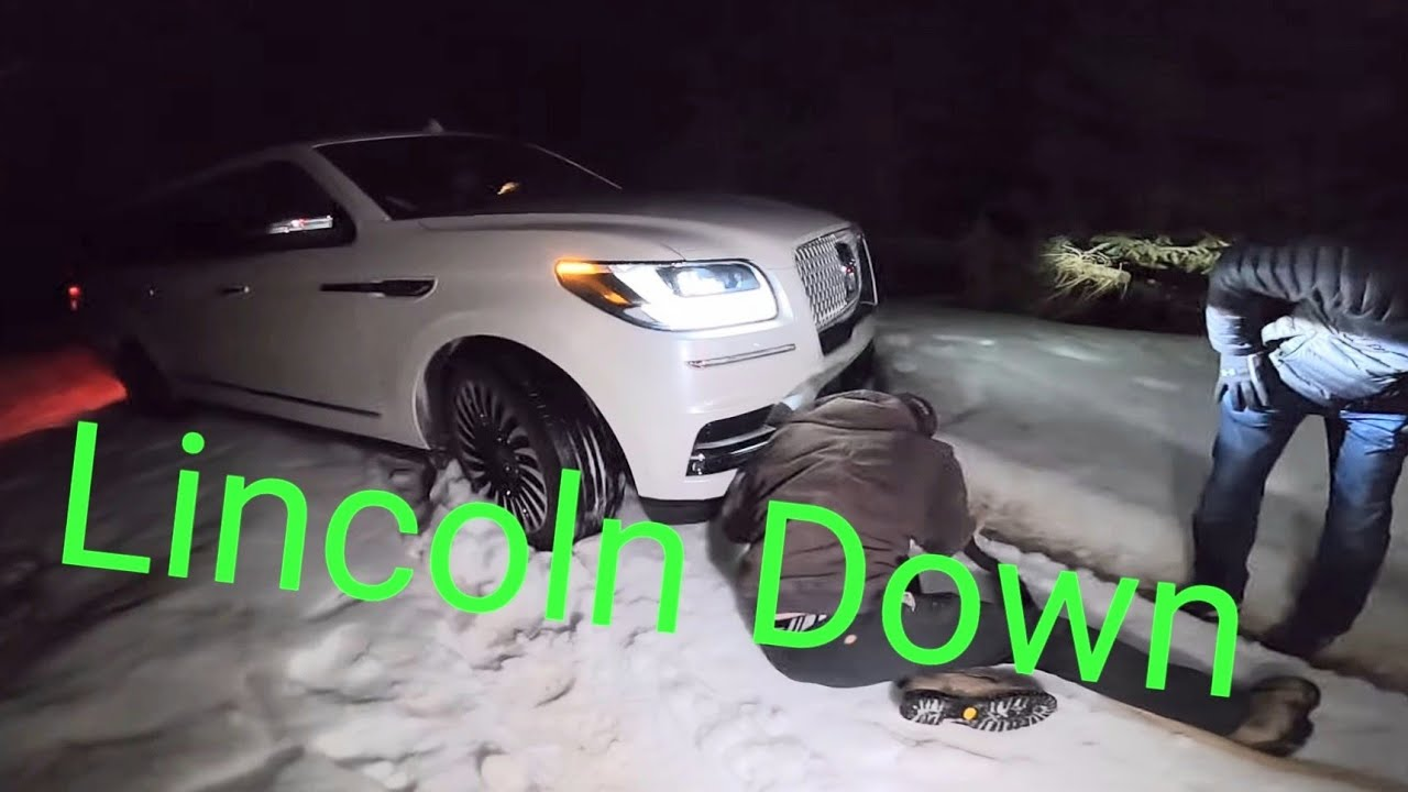 Lincoln Navigator Stranded on a Backcountry Road!