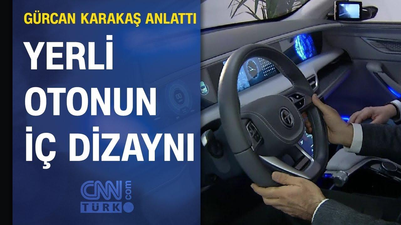 Gürcan Karakaş, TOGG yerli otomobilin tasarımı ve iç dizaynını CNN TÜRK'te anlattı