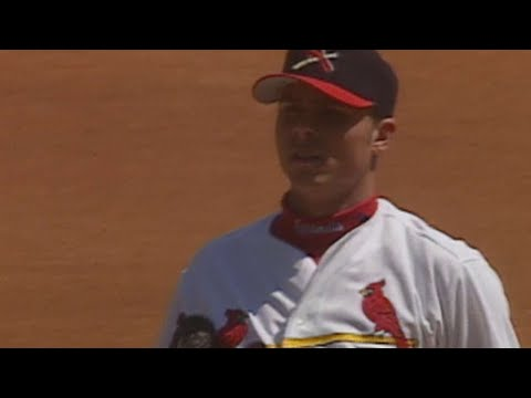 Rick Ankiel fans ten, earns his first career win