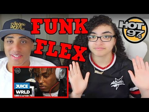 JUICE WRLD FREESTYLE ON FUNK FLEX REACTION | #FREESTYLE101 | MY DAD REACTS
