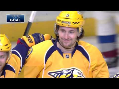 Forsberg scores a hat trick in back-to-back games