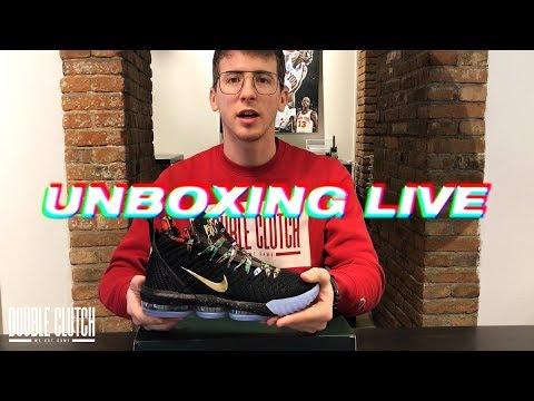 1bf9086ef9b UNBOXING LIVE  Lebron 16 Watch The Throne