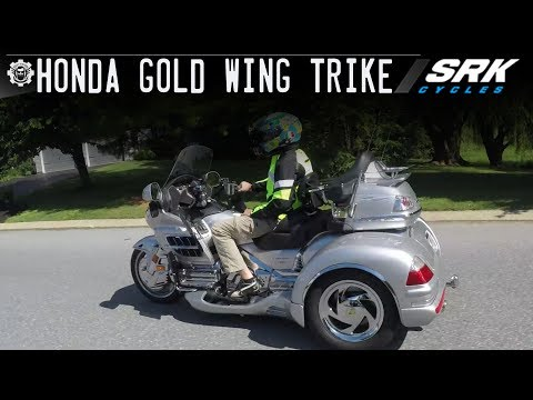 1st time on a Goldwing Trike