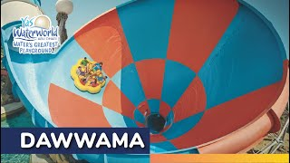 Yas Waterworld | Dawwama | World's Largest Six Person Tornado Watercoaster