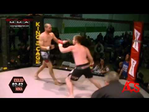 EXILED MMA and ACSLive.TV PRESENTS Troy Wood vs Joshua Thomas