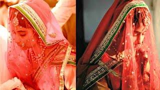 DIY Bridal Veil for Indian Brides || Detachable Veil for Indian wedding outfits