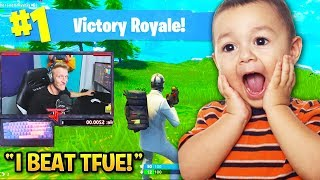 CUTEST KIDS Who Played with Fortnite STREAMERS! (Cizzorz, Courage, Tfue)