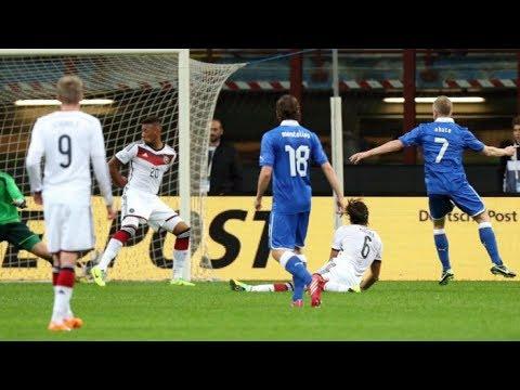Italy 1-1 Germany all goals - 15 November 2013