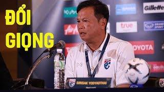 HLV Thái Lan bất ngờ ĐỔI GIỌNG trước trận gặp Việt Nam