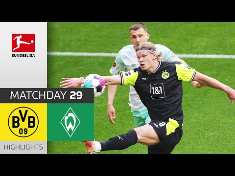 Borussia Dortmund Werder Bremen Goals And Highlights