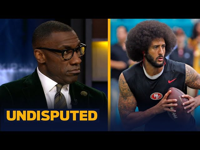 Shannon Sharpe is 'surprised' with Colin Kaepernick's settlement with the NFL | NFL | UNDISPUTED
