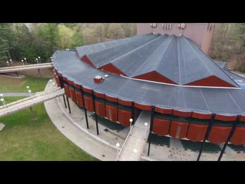 S.P.A.C by a drone (Saratoga Performing Arts Center)