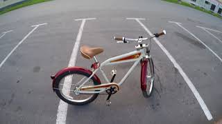 Обзор Велосипед Nirve STREET KING 3-SPEED. Велосипед круизер. Bicycle Nirve STREET KING 3-SPEED.