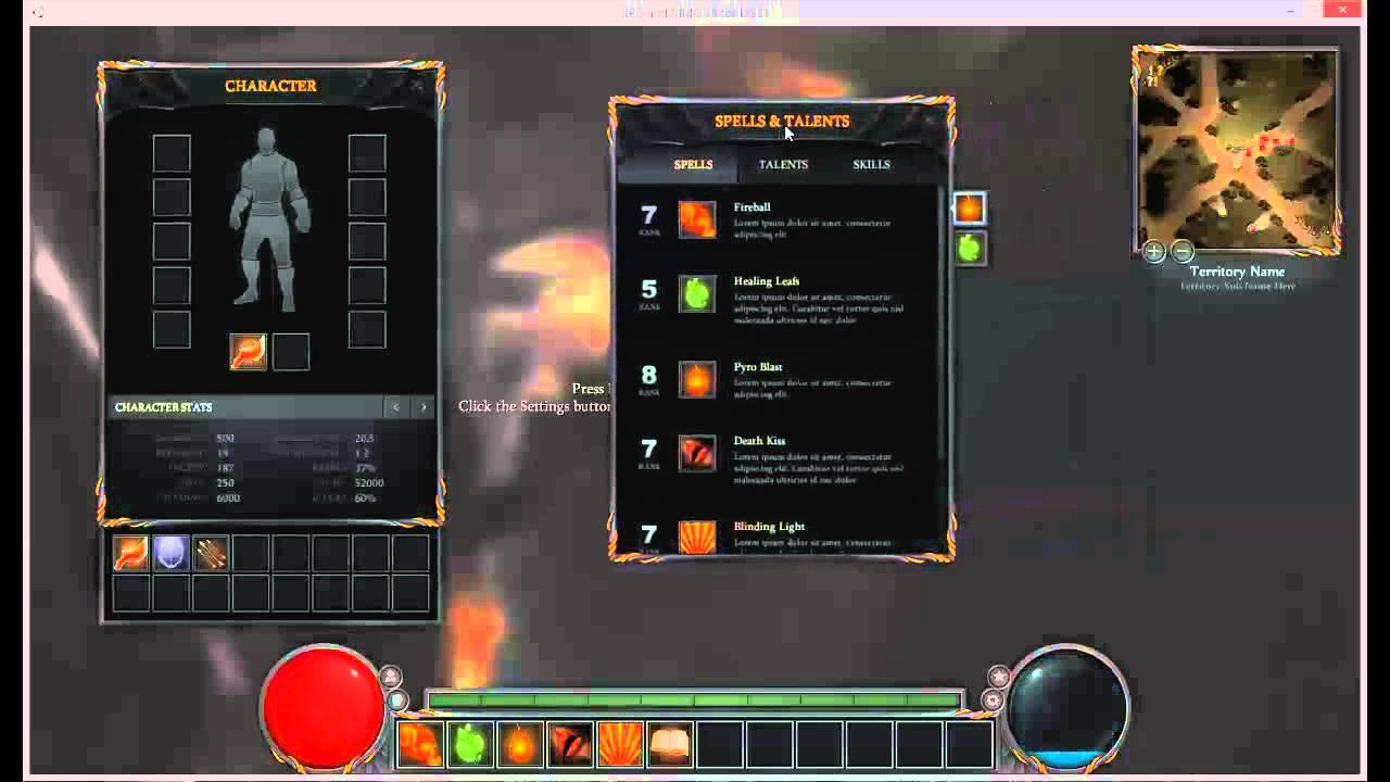 RPG & MMO UI for Unity 4 6 GUI