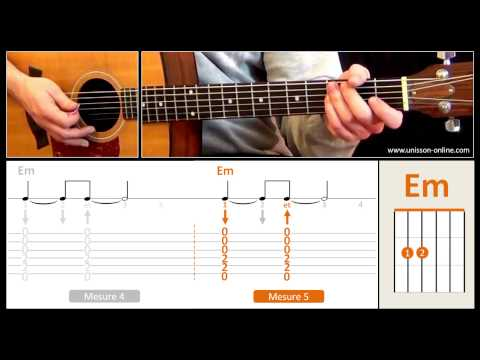 Jouer Sunday Bloody Sunday (U2) - Cours guitare. Tuto + Tab