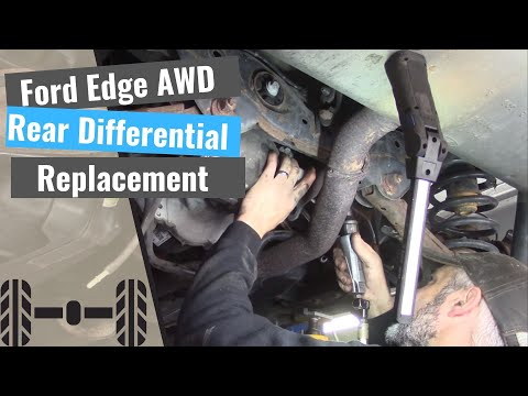 Ford Edge Rear Differential – Remove & Replace