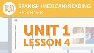 Mexican Spanish Reading for Beginners - Is This Bus Service Running Today?